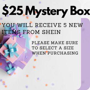 Shein $25 Mystery Box Sale.